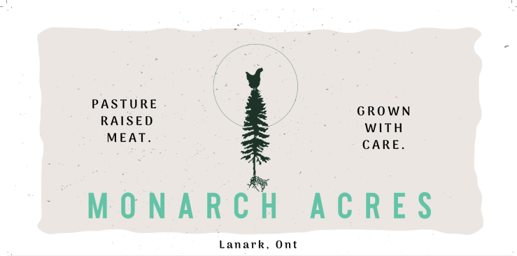 Monarch Acres Banner